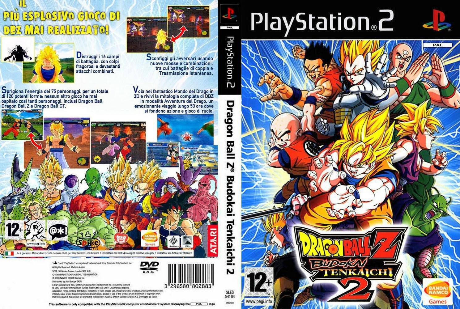 Dragon Ball Z Budokai Tenkaichi 2 PS2 PAL