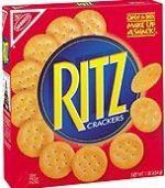 Ritz crackers box image