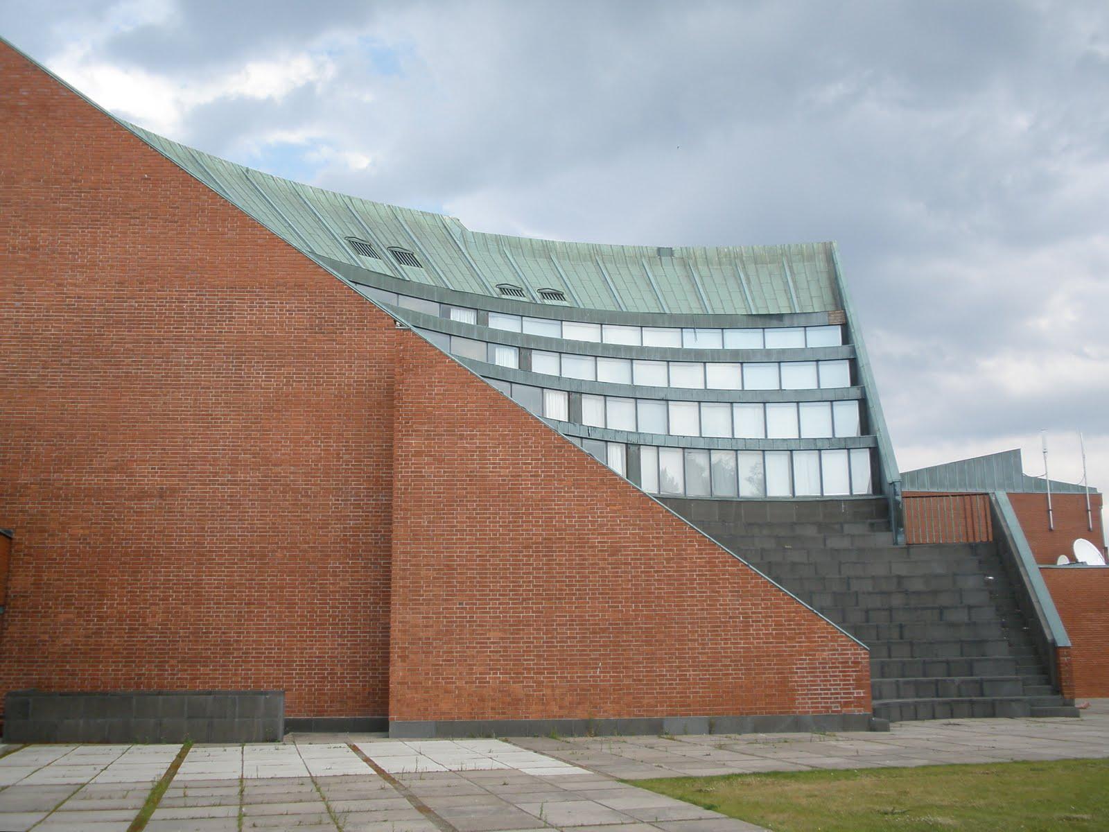 guttae alvar aalto technical university auditorium