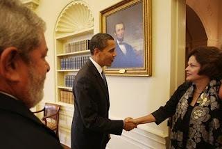 dilma e lula nos estados unidos EUB e o presidente barack Obama