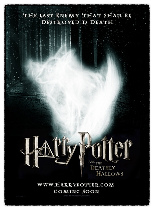 harry potter 7 poster part 2. harry potter 7 part 2 poster.