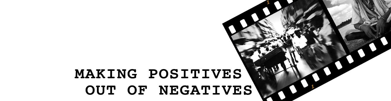 Making POSITIVES out of NEGATIVES