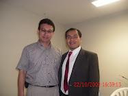 Antonio Castro Cruz junto a Marco Arnao Vásquez