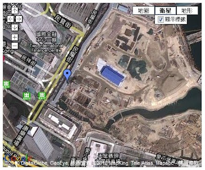 Google Maps上還未有龍和道@05, 3月 2010