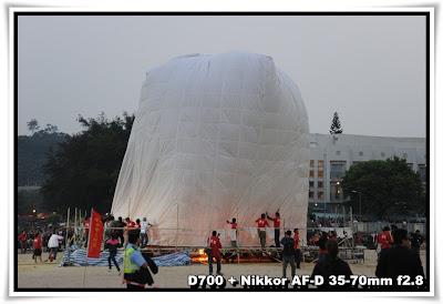 梅窩洪聖誕水燈天燈節2010