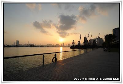 日落 觀塘海濱長廊