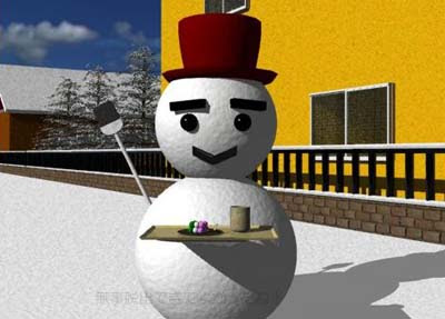 Escape from Room of Snowman 3D