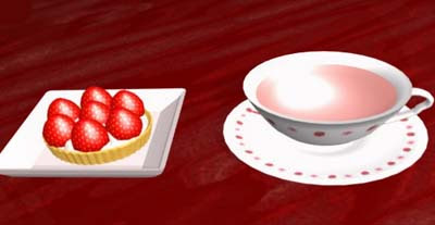 Strawberry Cafe Escape