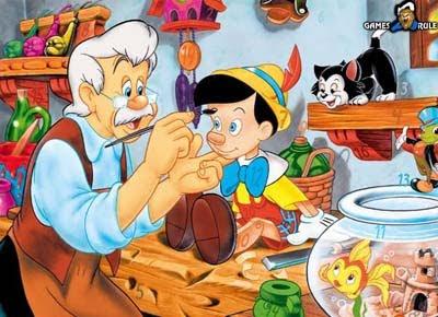 Hidden Numbers: Pinocchio
