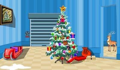 Santa Chariot Room Escape