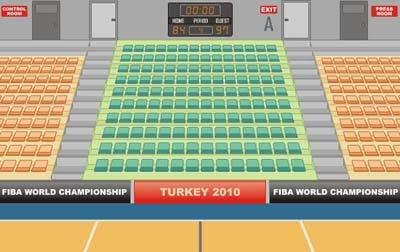 Basketball Arena Escape