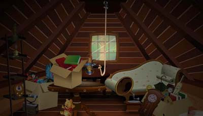 Tiny Attic Escape