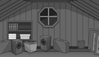 Grayscale Escape Series The Attic