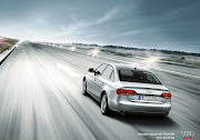 Audi A4 Back Wallpaper. Audi A4 Run Wallpaper