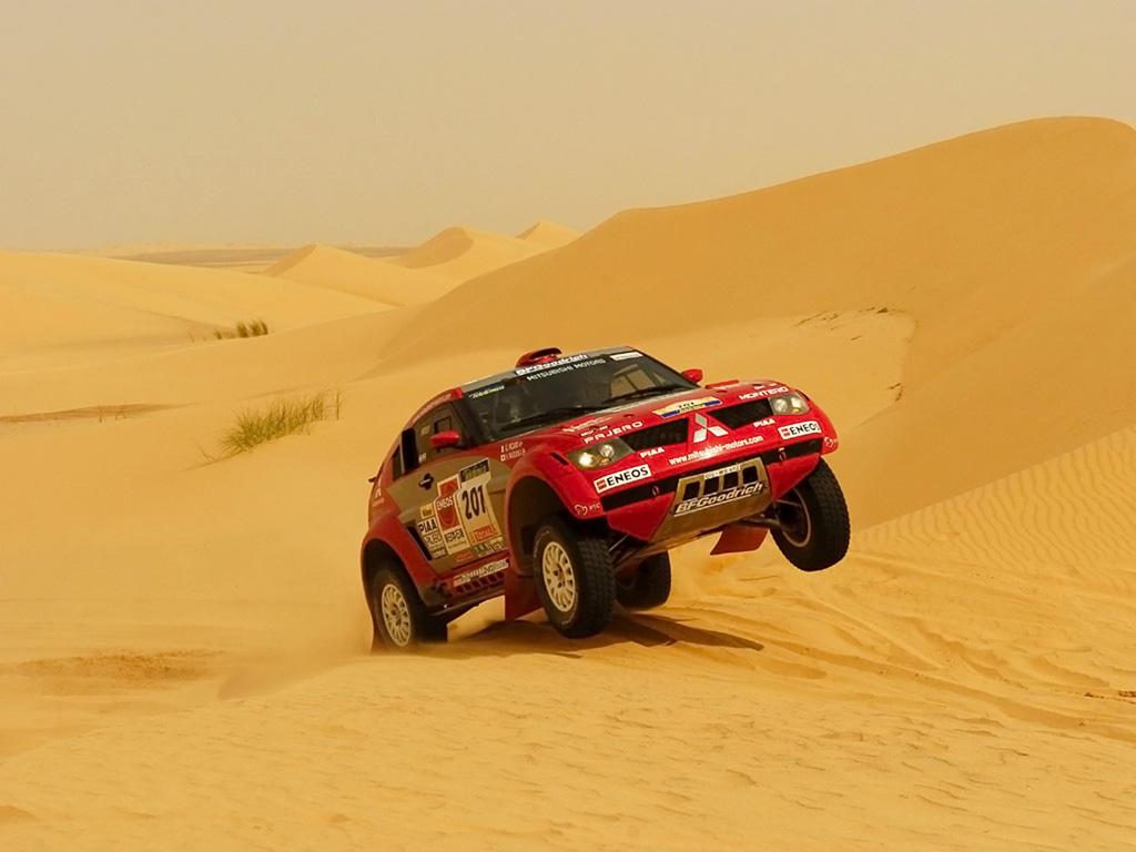 Rally Dakar 2011 Car Wallpaper