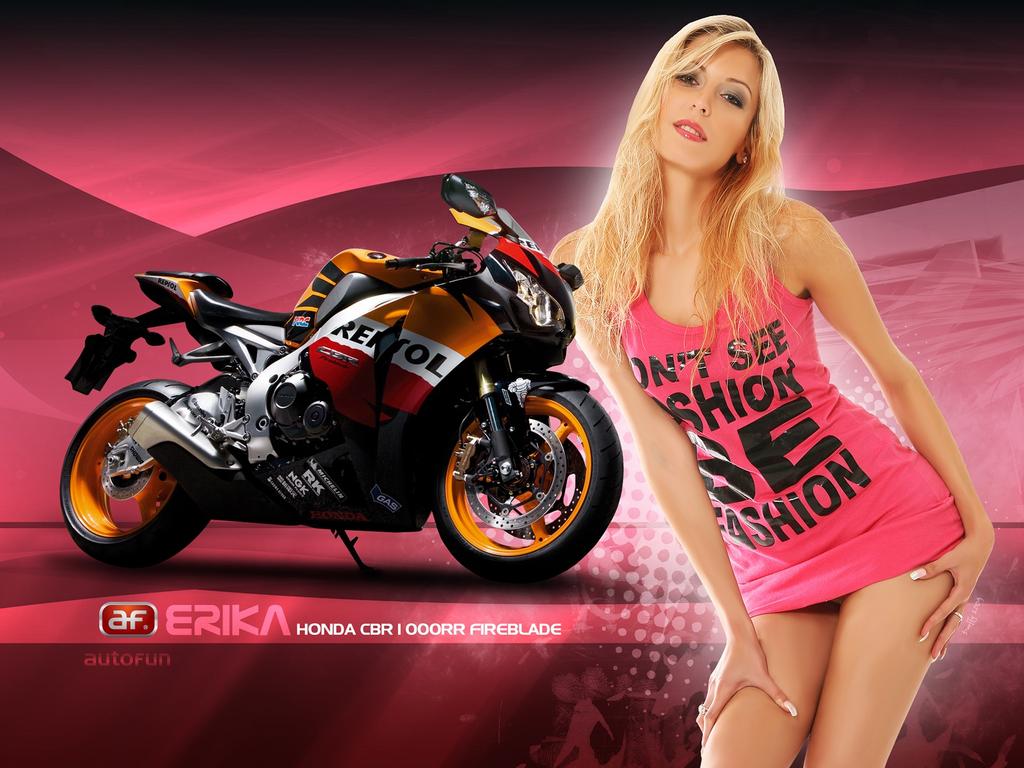 girl bike: