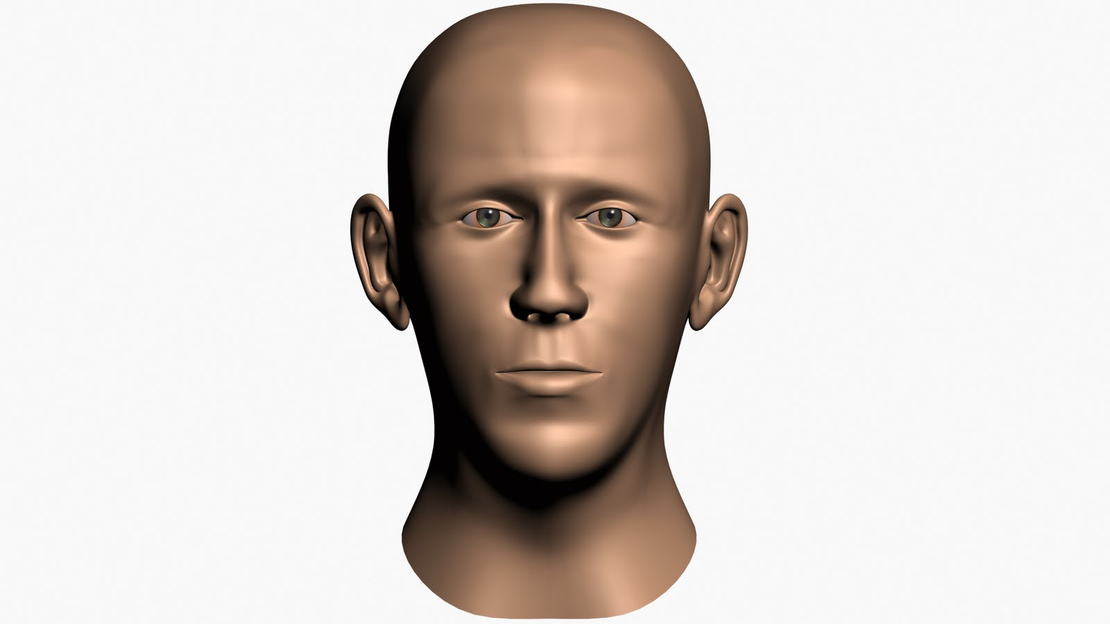 Jason's Portfolio: Human Head