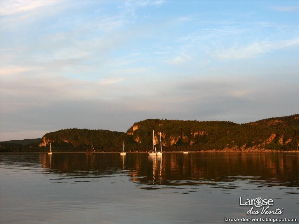 larose des vents: notre voyage au saguenay