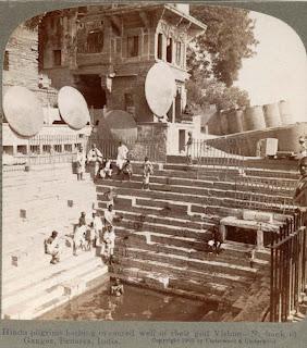 Benares, Varanasi, 100 years ago