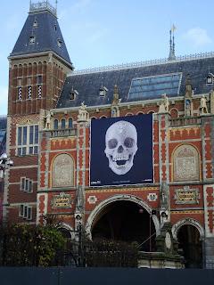 diamond skull, Amsterdam