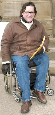 Protest+at+Legislature Disability Alert leader worried by silence on issues photo