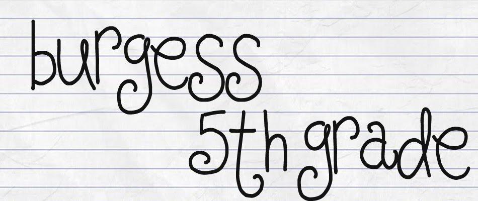 Burgess 5th Grade