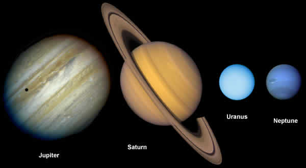 large outer planets -#main