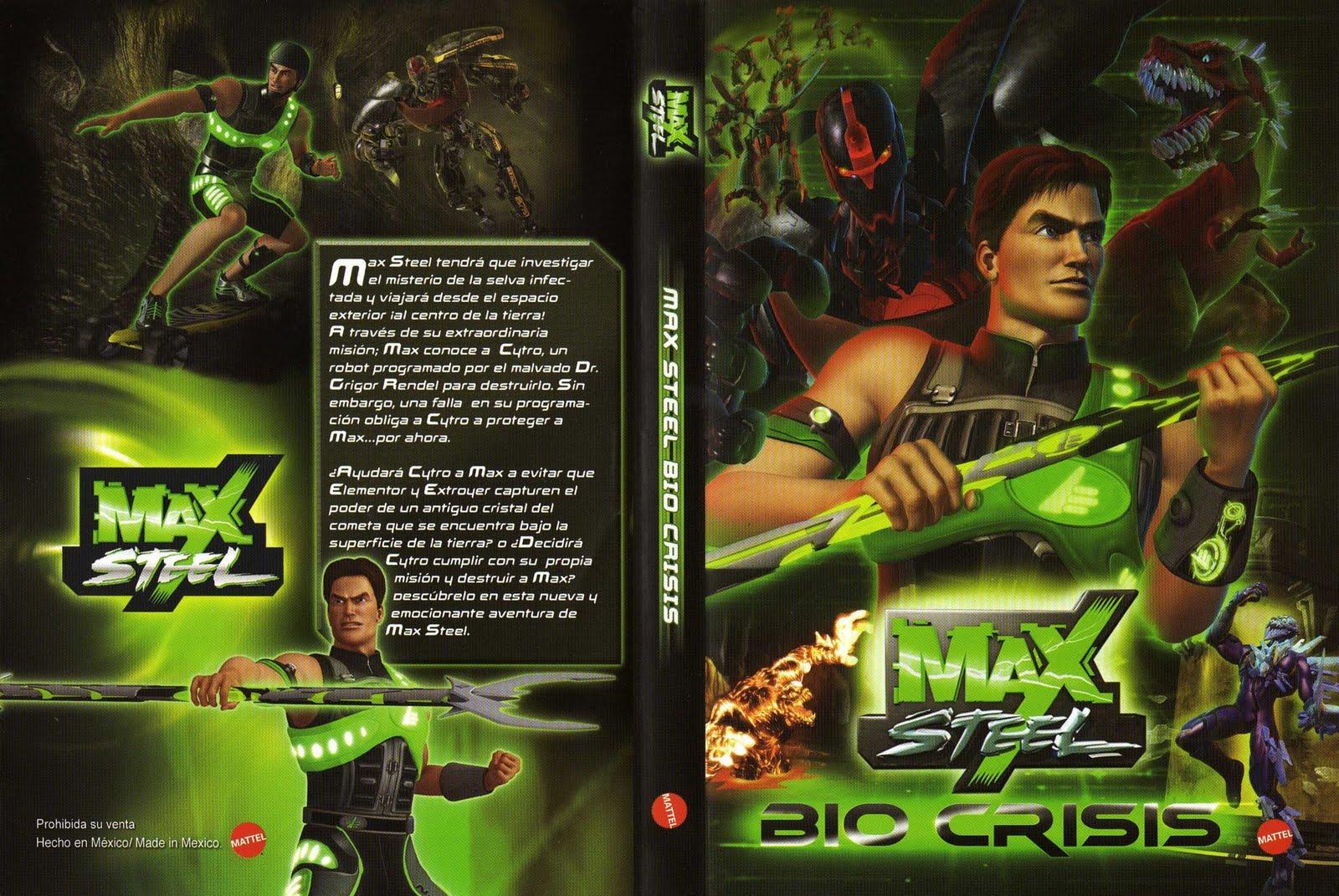 Max Steel Bio Crisis
