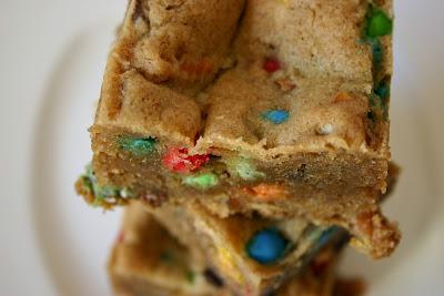 Confetti Cookie Bars.