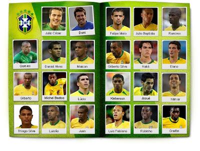 Analise de selecção :  Brasil Album_selecao_3