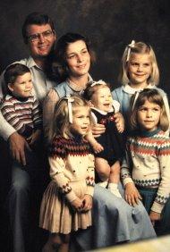 Ricker Family, November 1985