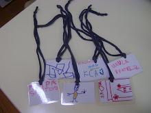 Cartões de Identificação de Algumas Crianças