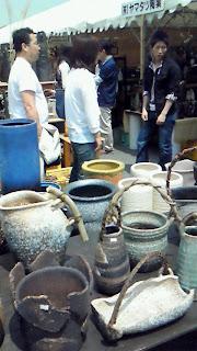 信楽陶器市メイン会場