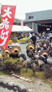 信楽陶器市