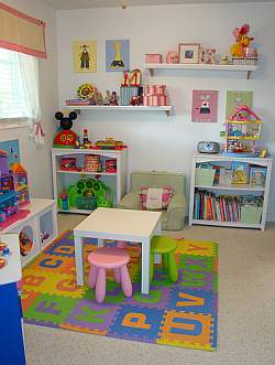 Kids Play Room Design on Home And Apartment Designs