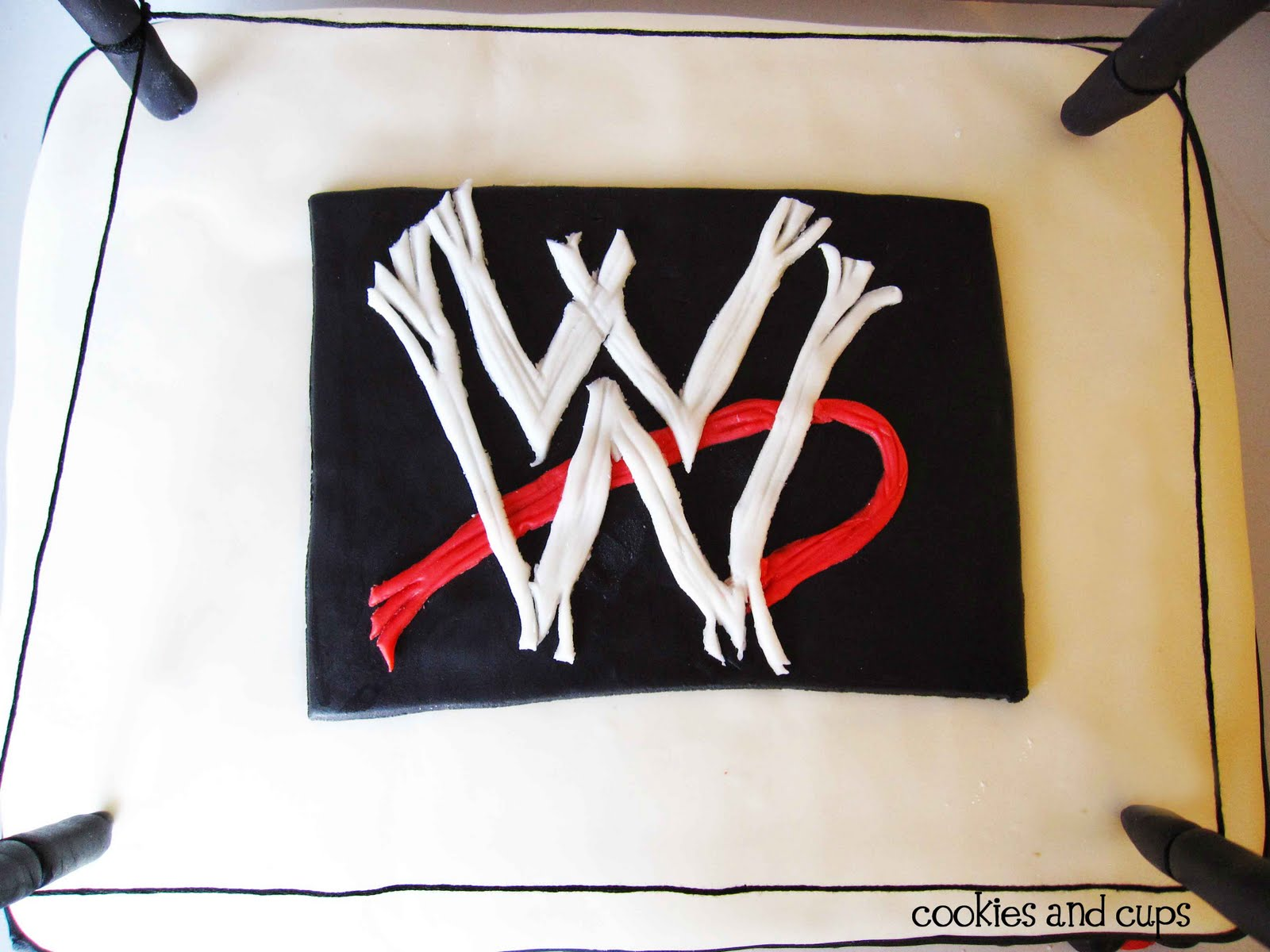 Edible Cake Images Wwe : Wwe Edible Cake Toppers Grosir Baju Surabaya