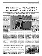 Entrevista Seminario Archivos UNED
