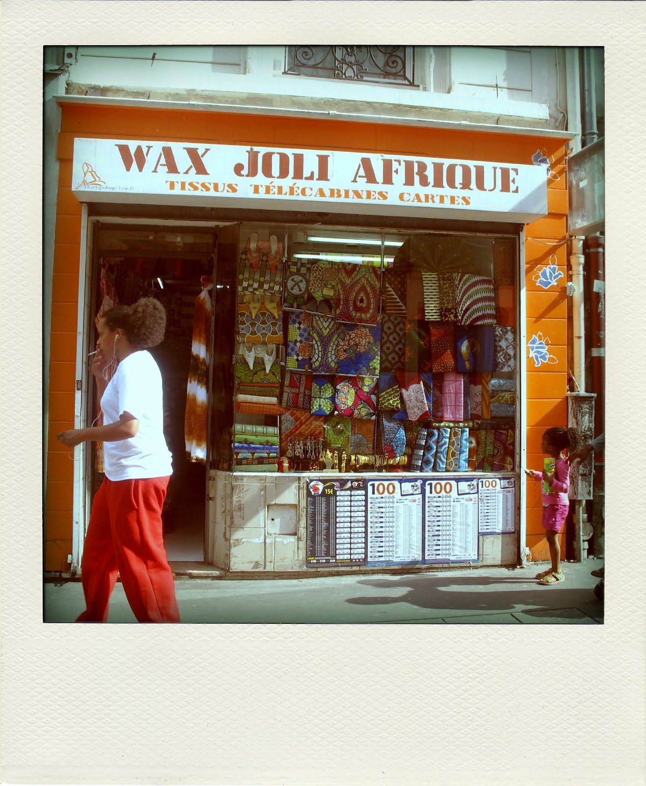 Nothing but the wax barbes city the place to be pour acheter du wax - Ou acheter du tissu a paris ...