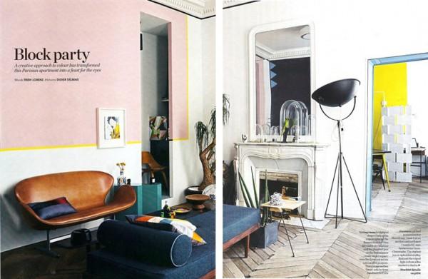 Style Parisian Apartment 1 600x391 50s Style Parisian Apartmentjpeg
