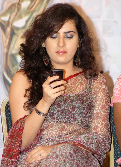 Archana Veda In Saree Cute Pictures Actress