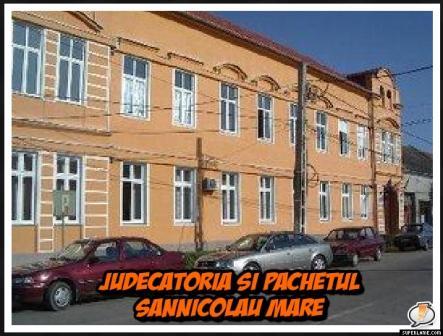 Judecatoria si Parchetul Sannicolau Mare