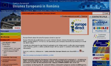 Reprezentanţa Comisiei Europene în România