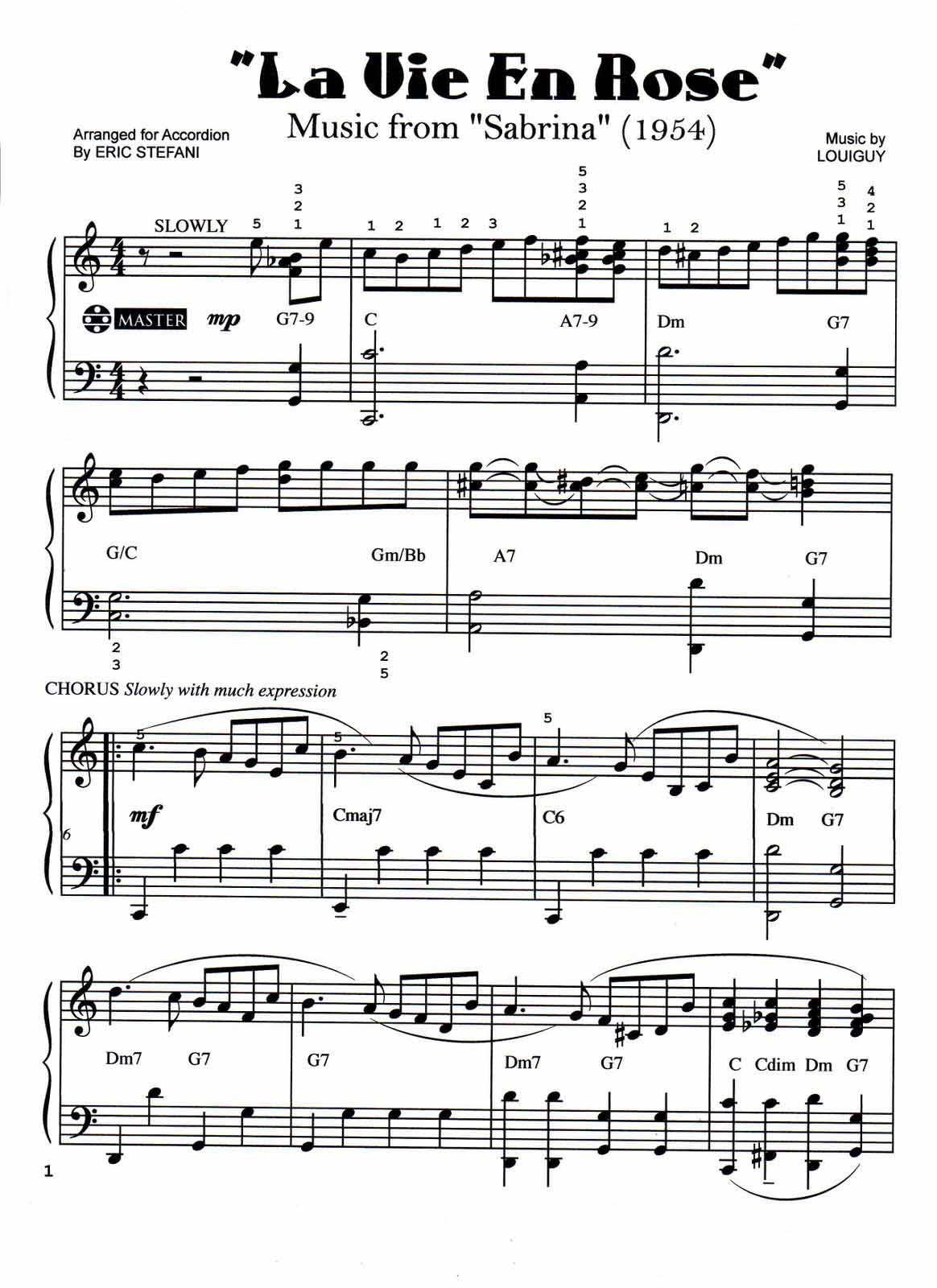 la vie en rose violin sheet music pdf