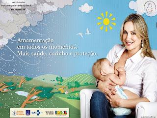 Semana Mundial da Amamentação 2009 - Claudia Leite