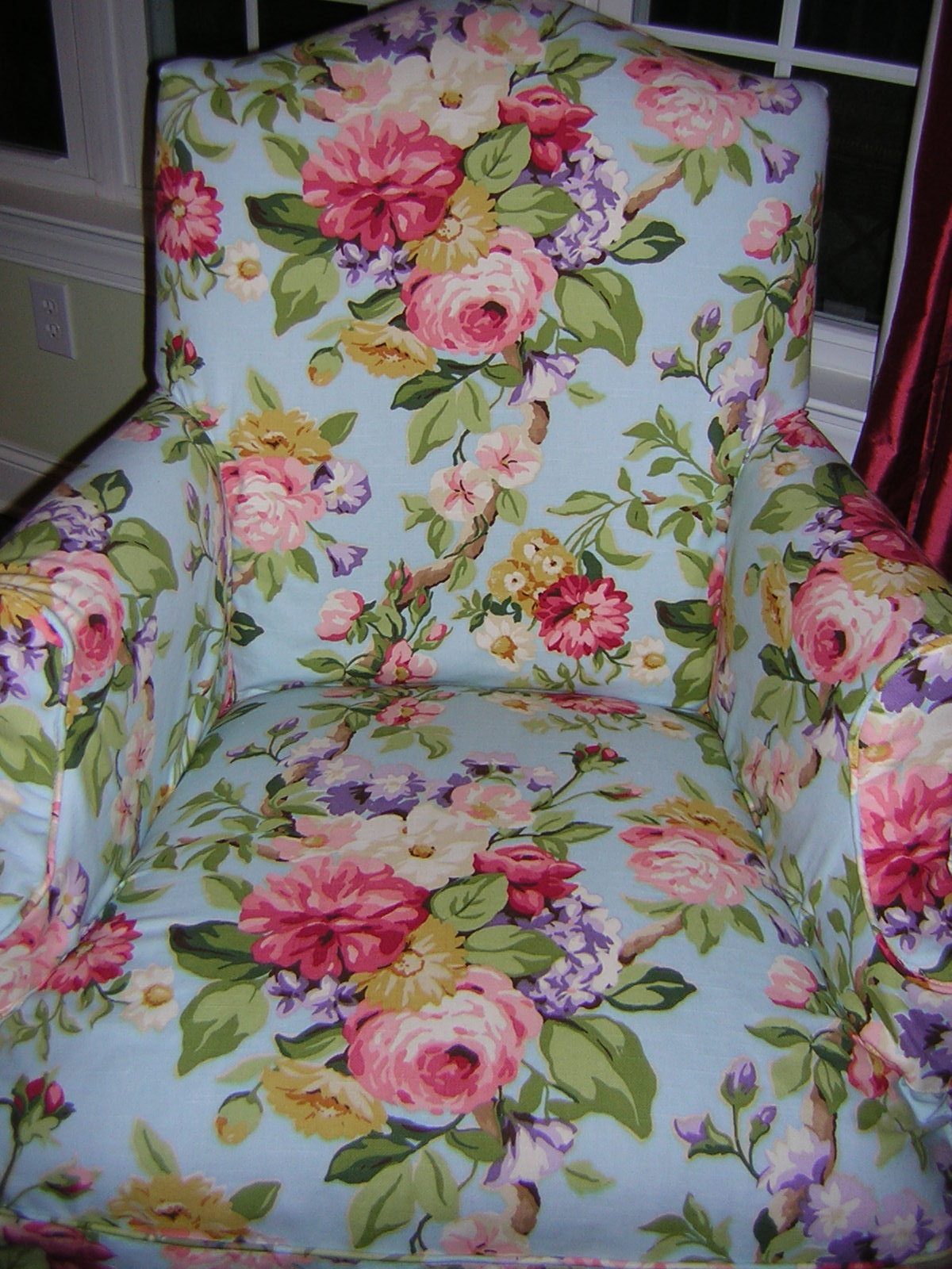 Slipcover Chic Dining Chair Gets A Cottage Look