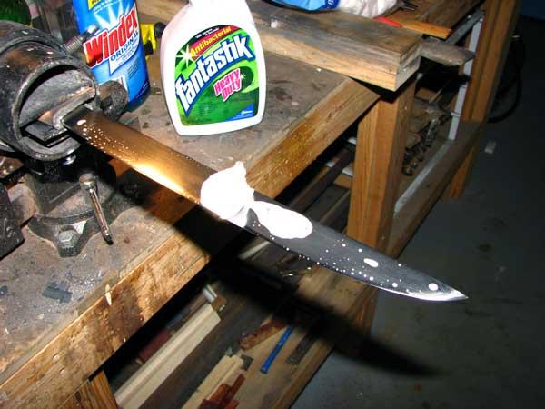 Сделать нож самому в домашних условиях