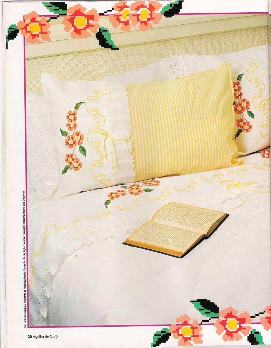 Artesanato Jornal E Revista ~ Artes da Familia Toda delicadeza ,agora em seu quarto!