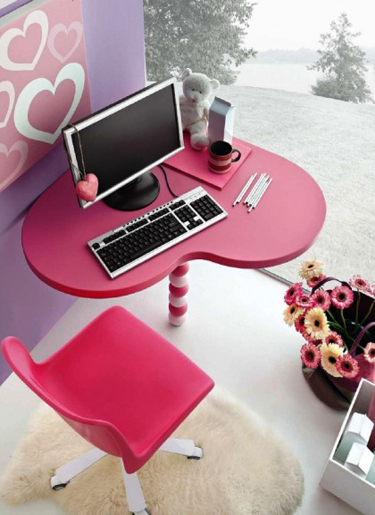 Bedroom designs full color pink shades of love home for Bedroom designs love