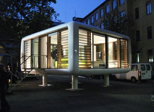 Small Modular Homes Type Loftcube HOME DESIGN