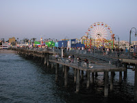 Amusements at Santa Monica Pier